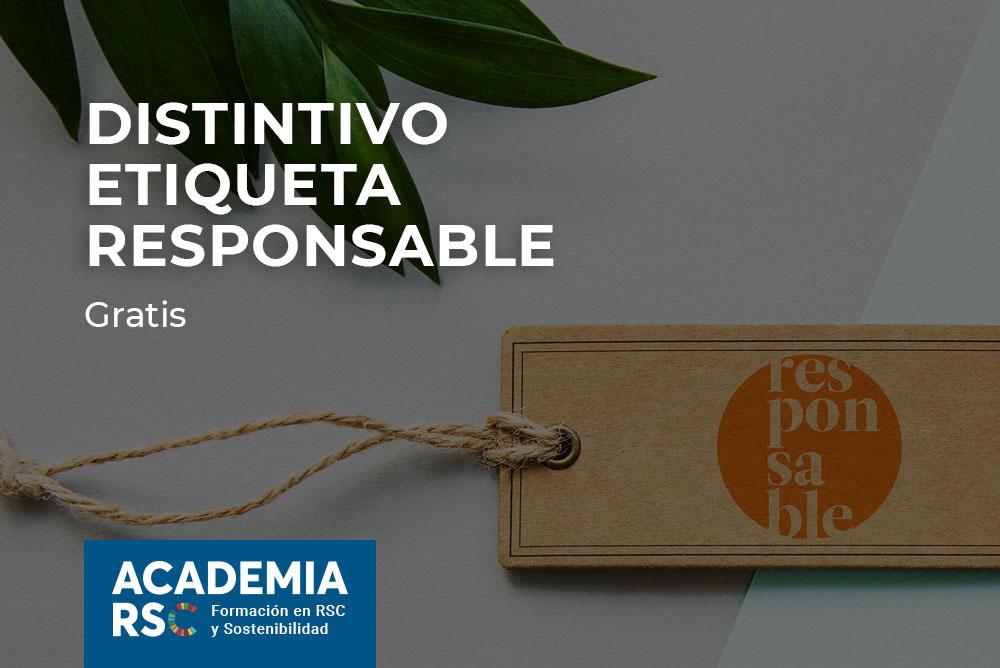 Distintivo Etiqueta Responsable